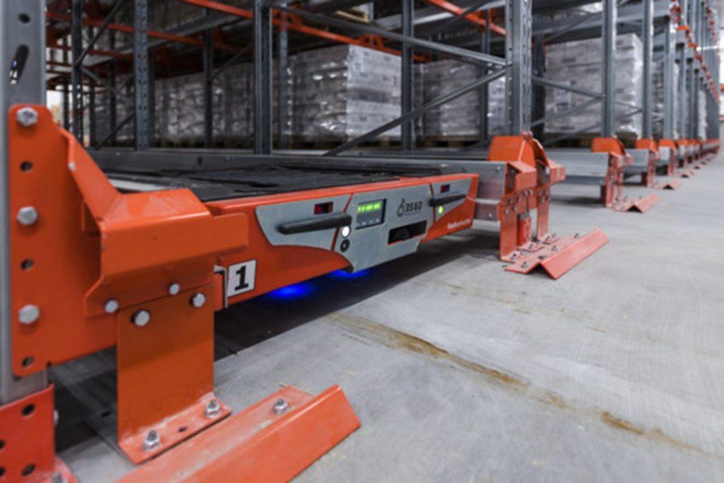 radioshuttle cold storage optimizing storage space